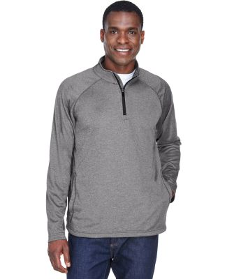 DG440 Devon & Jones Men's Stretch Tech-Shell Compa DK GREY HEATHER