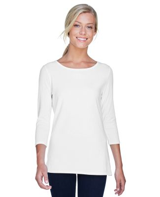 DP192W Devon & Jones Ladies' Perfect Fit?Ballet Br WHITE