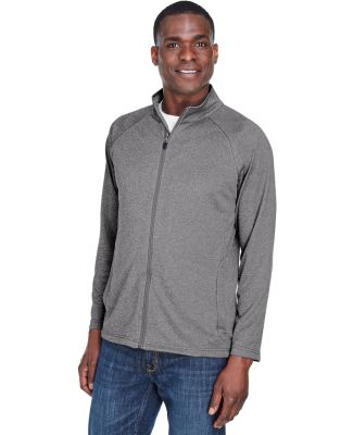 DG420 Devon & Jones Men's Stretch Tech-Shell?Compa DK GREY HEATHER