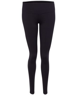 W5019 All Sport Ladies Full Length Leggings Black