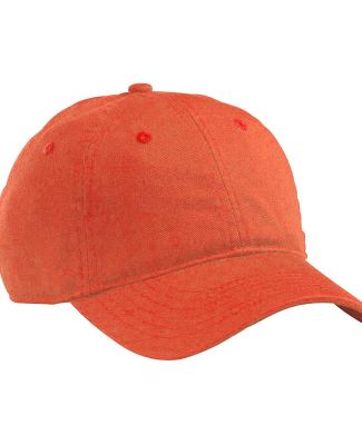 econscious EC7000 Organic Twill Dad Hat ORANGE POPPY