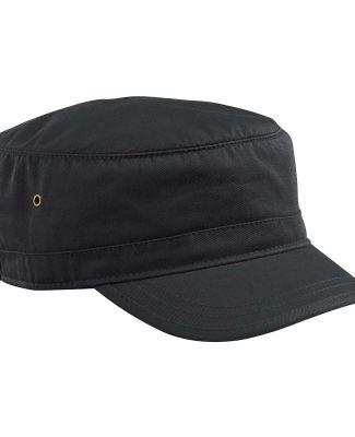 EC7010 econscious Organic Cotton Twill Corps Hat BLACK