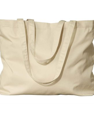 EC8001 econscious Organic Cotton Large Twill Tote OYSTER