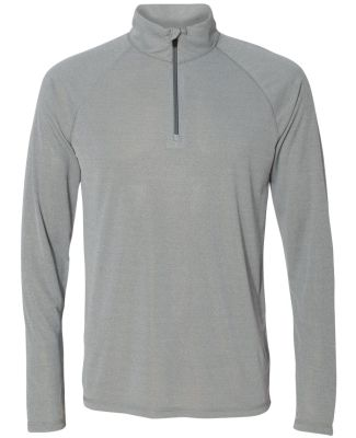 M3006 All Sport Men's Quarter-Zip Lightweight Pull Athletic Heather