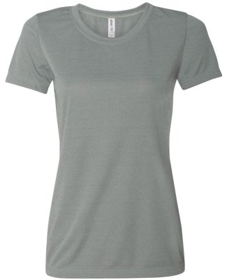 W1009 All Sport Ladies' Performance Short-Sleeve T Athletic Heather