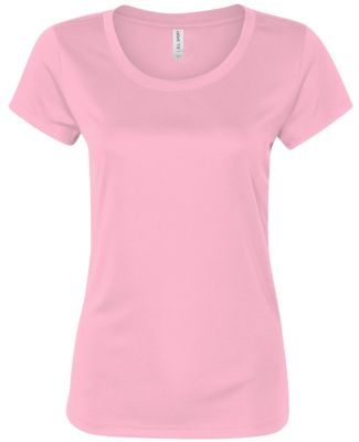 W1009 All Sport Ladies' Performance Short-Sleeve T Pink