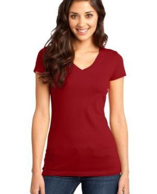 DT6501 District® - Juniors Very Important Tee® V-Neck Catalog