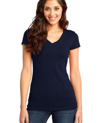 DT6501 District® - Juniors Very Important Tee® V New Navy