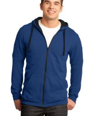 DT800 District® - Young Mens The Concert Fleece™ Full-Zip Hoodie Catalog