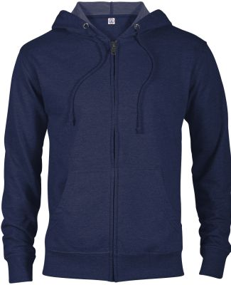 97300 Adult Unisex French Terry Zip Hoodie ATHLETIC NAVY