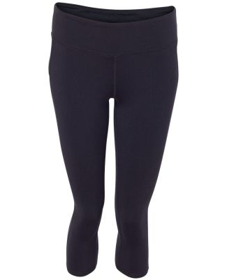 W5009 All Sport Ladies' Capri Legging Black
