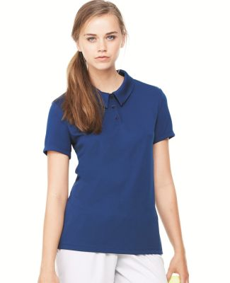 W1709 All Sport Ladies' Performance Three-Button Mesh Polo Catalog