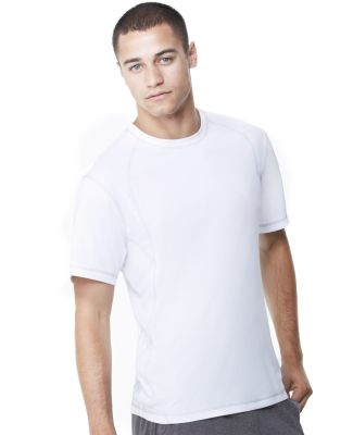 M1021 All Sport Men's Short-Sleeve Interlock Pieced T-Shirt Catalog