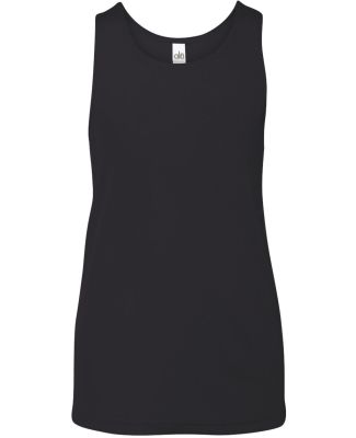 Y2780 All Sport Youth Mesh Tank Black