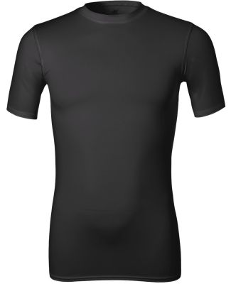 M1007 All Sport Men's Compression Short-Sleeve T-S Black