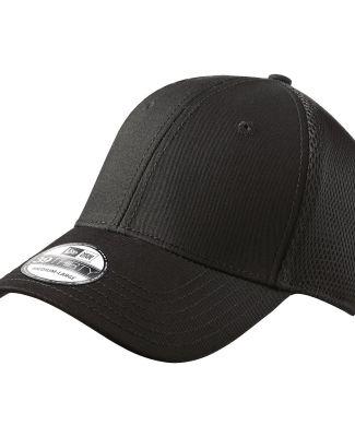 NE1020 New Era® - Stretch Mesh Cap Black/Black