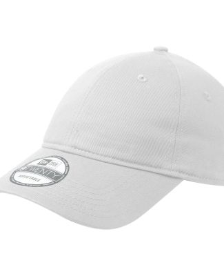 NE201 New Era® - Adjustable Unstructured Cap White