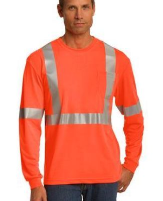 CS401LS CornerStone® ANSI 107 Class 2 Long Sleeve Safety T-Shirt Catalog