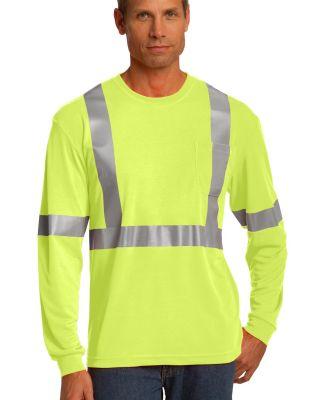 CS401LS CornerStone® ANSI 107 Class 2 Long Sleeve Safety Yellow