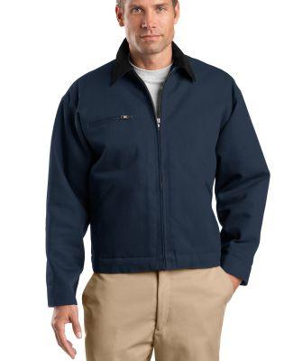 TLJ763 CornerStone® Tall Duck Cloth Work Jacket Navy