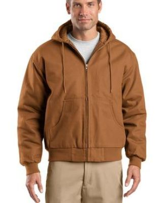 TLJ763H CornerStone® Tall Duck Cloth Hooded Work Jacket Catalog