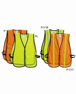 PL-V17-V18 ML Kishigo P-Series Mesh Vest Catalog