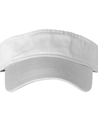 158 Anvil Solid Three-Panel Low-Profile Visor White