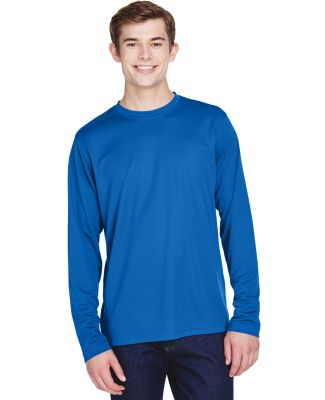 88199 Core 365 Agility  Men's Performance Long Sle TRUE ROYAL