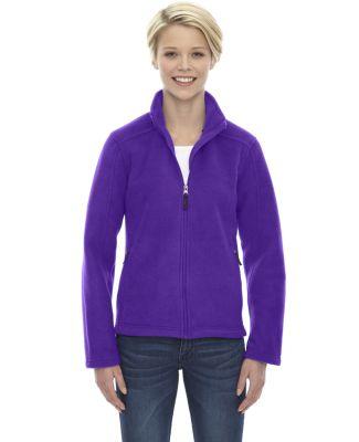 78190 Core 365 Journey  Ladies' Fleece Jacket CAMPUS PURPLE