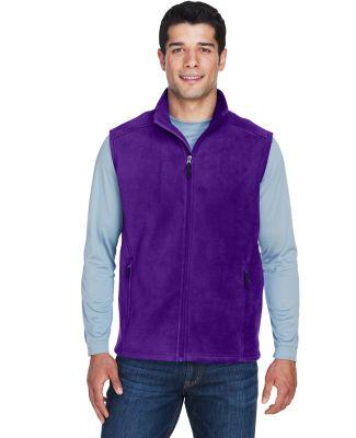 88191 Core 365 Journey  Men's Fleece Vest CAMPUS PURPLE