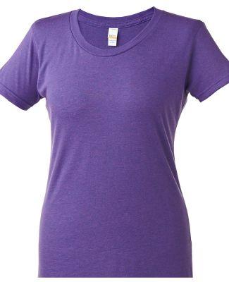 253 Tultex Ladies' Tri-Blend Tee with a Tear-Away  Lilac Tri Blend