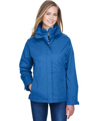 78205 Core 365 Ladies' Region 3-in-1 Jacket with F TRUE ROYAL