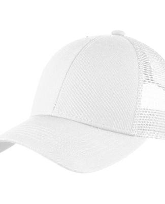 C911 Port Authority Adjustable Mesh Back Cap White