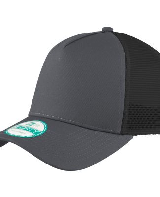 NE205 New Era Snapback Trucker Cap  Graphite/Black