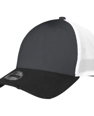 NE1080 New Era® Vintage Mesh Cap Black/Grpht/Wh