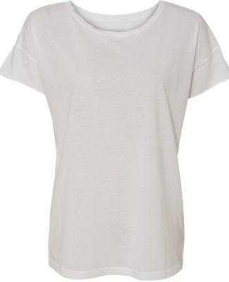 Alternative Apparel 4134 Womens Rocker Fashion T-S WHITE