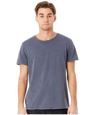 Alternative Apparel 4850 Men's Heritage Distressed DK BLUE PIGMNT