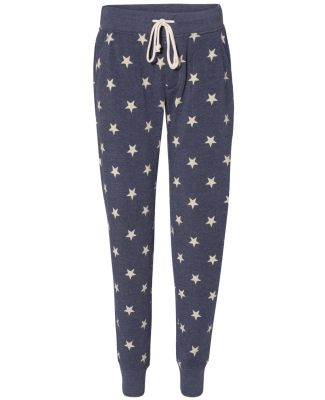 Alternative Apparel 31082F Ladies Fleece Jogger STARS