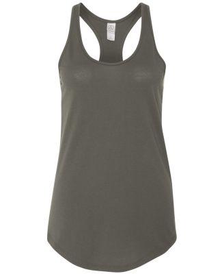 Alternative Apparel 04031C1 Ladies' Shirtail Tank Asphalt