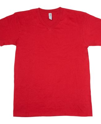 MC1047 Cotton Heritage Men's Chicago Cotton V-Neck Cardinal