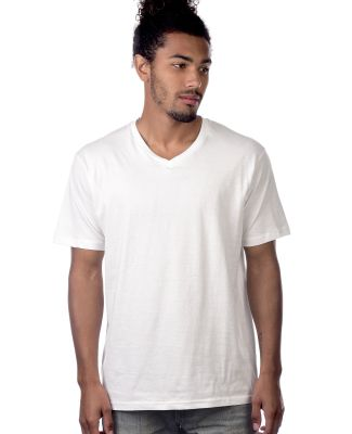MC1047 Cotton Heritage Men's Chicago Cotton V-Neck White