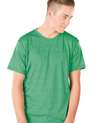 MC1225 Cotton Heritage Men's Portland Heather Crew Neck Tee Catalog