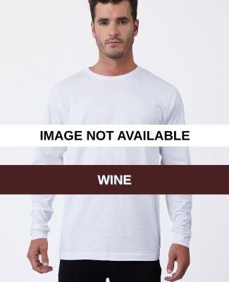 MC1144 Cotton Heritage Men's Indy Long Sleeve Tee Wine