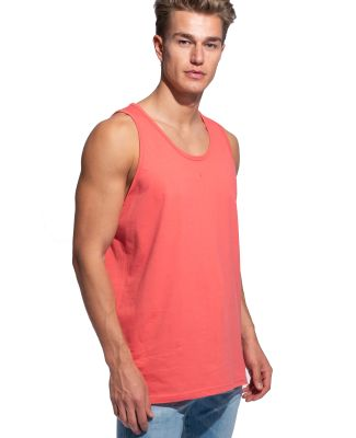 MC1790 Cotton Heritage Men's St. Louis Tank Coral