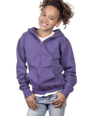 Y2700 Cotton Heritage Spokane Unisex Youth Zip Up Hoodie Catalog