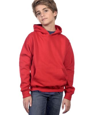 Y2600 Cotton Heritage Tyler Unisex Youth Pullover Red