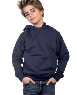 Y2600 Cotton Heritage Tyler Unisex Youth Pullover Navy