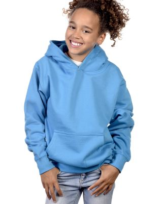 Y2600 Cotton Heritage Tyler Unisex Youth Pullover Turquoise