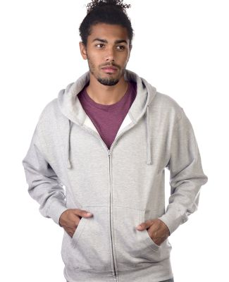 M2700A Cotton Heritage Springfield Unisex Zip Up H Athletic Heather