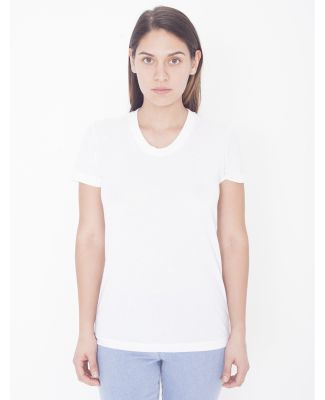 American Apparel PL301W Ladies' Sublimation Short-Sleeve T-Shirt White